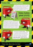 Stick to the rules safety poster