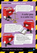 Employee responsibility safety poster